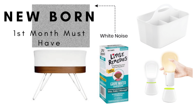 New Born Baby: 1st Month Must Haves- What I Used to Survive as a First Time Mom With an Environment Sensitive and Over Stimulated Baby.