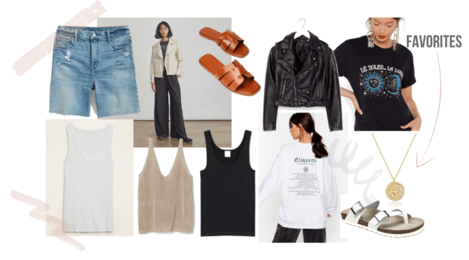Fashion Staples: Ditching the Maturity Clothes and  Rebuilding my Mommy Chic Wardrobe.