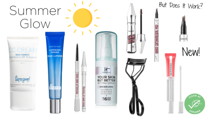 Make Up: End of Summer 2020 Sephora Make Up Haul Including Benefit, Super Goop, and Much More!