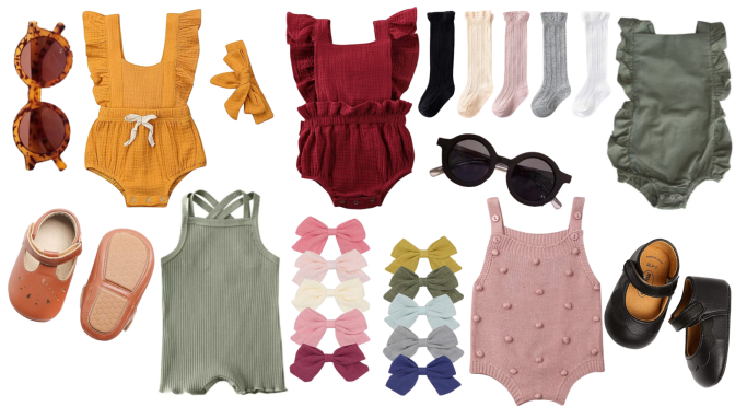 Fall Wardrobe for Baby Girls: Simple and Affordable Must Have Clothing Items from Amazon & Lessi's Closet