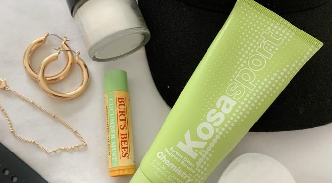Tried it! Kosas Chemistry AHA Serum Deodorant- A Natural, No Aluminum or Baking Soda, Alternative Deodorant.